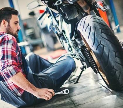 warsztat motocyklowy